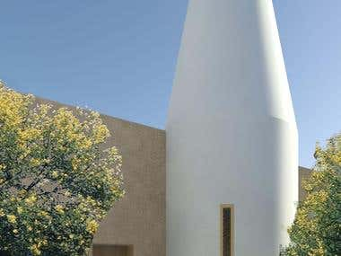 Architecture - Karoo Retreat - Silo inspired accommodation