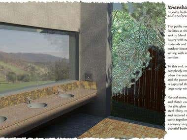 Architecture - Bush Lodge Ablutions