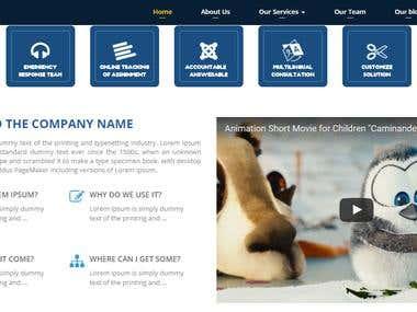 Company Profile Website by Shreesols