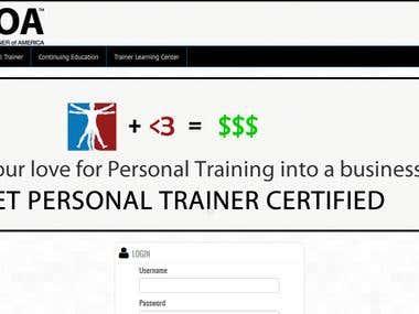 PTOA - Personal trainer of America