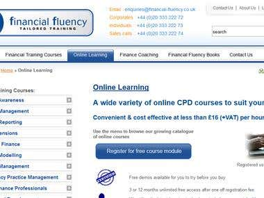 financial fluency tailored Training