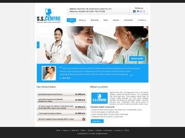 Nurse Website Design
