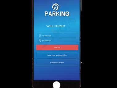 Parking Mobile Application Design