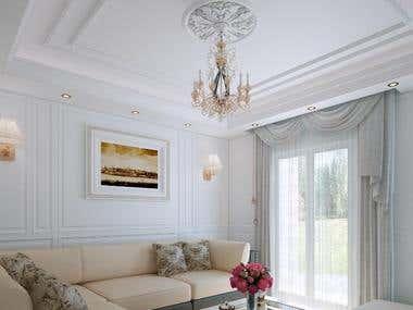 3D Interior Design.