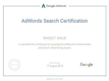 Google Search Certification