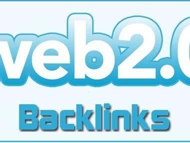 Seo Manually Web 2.0 backlinks using PR9-PR7 Best Domains