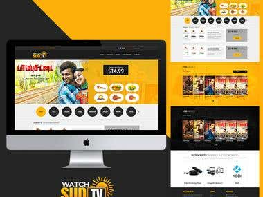Watchsuntv Website Design