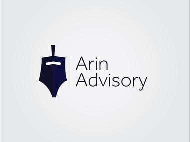 Logo Design for a Business Advisory Company- Arin Advisory