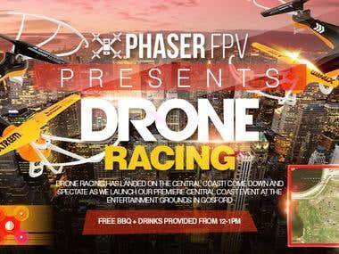 Drone Banner Design
