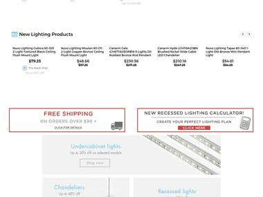 Lumenco.ca - Online store selling Lights and Bulbs