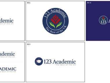 Logo for Academic Website