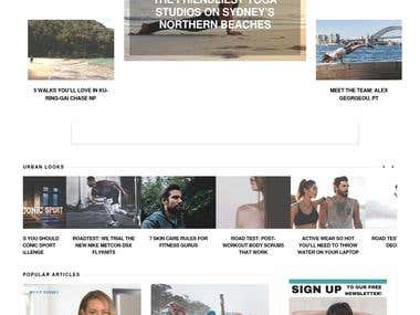 Urbansweat - Australian Magazine