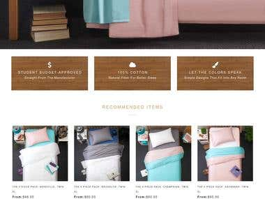BoxtTeddy - Online store for bedding items