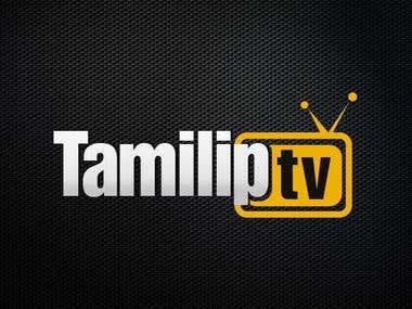 Tamiliptv Logo Design AI