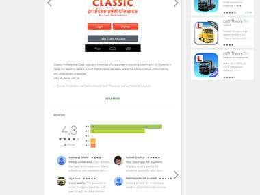 Application Developmen Android / Ionic