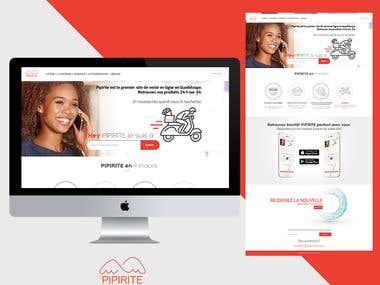 Pipirite Website UI/UX