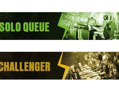 E-sport / csgo Banner