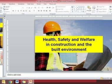 Health & Safety Slide Show