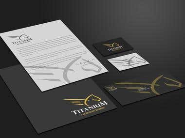 TITANIUM - Logo & Stationery Design