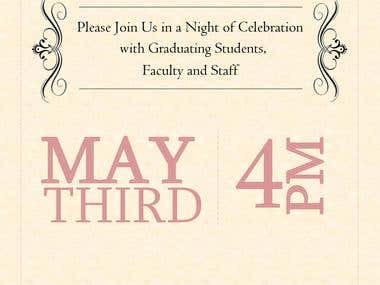 Graduation Invitation for 2013 Graduate Class