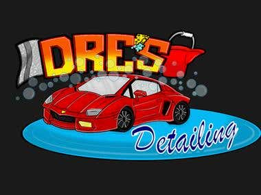 Dre's Detailing Logo