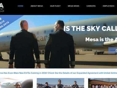 Airline Service Website