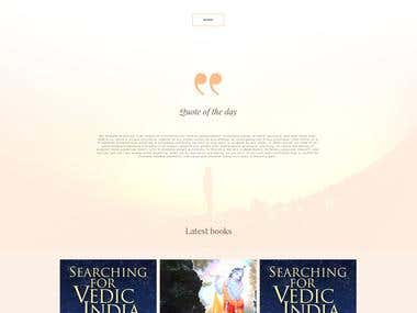 Website design - Monk