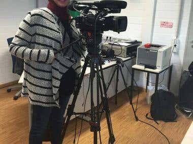 DEUTCH WELLE Workshop; Video and online-blog production