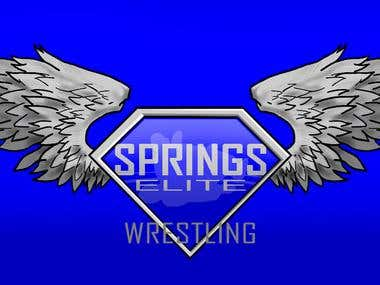 Springs Elite Wrestling Logo