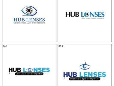 Logo For Contact Lenses Website.
