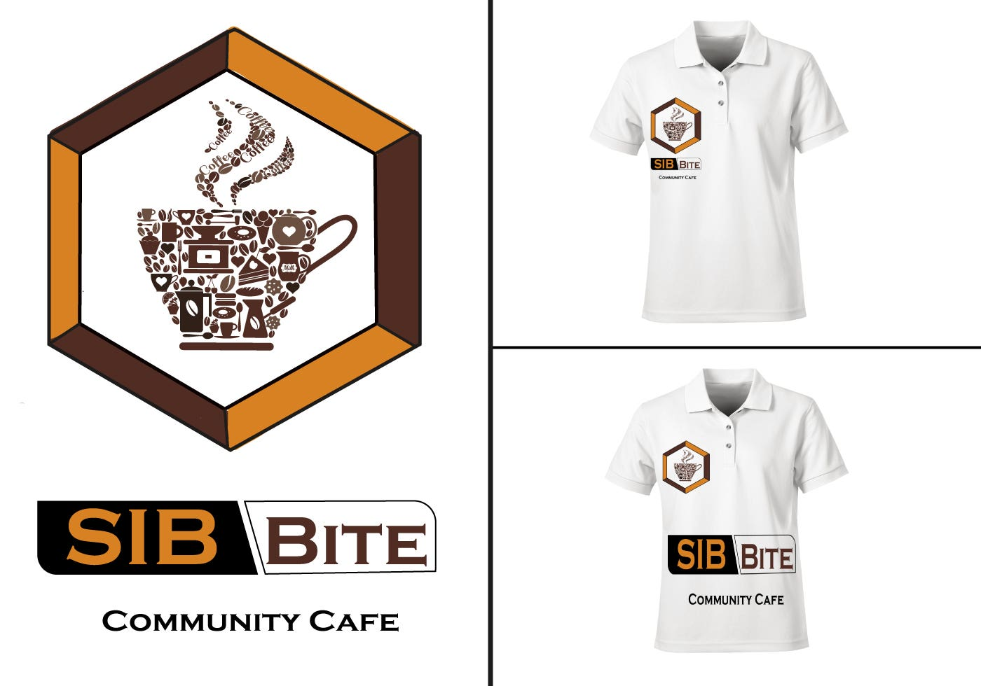 logo design and t-shrit