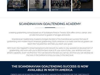 Scandinavian Goaltending Academy