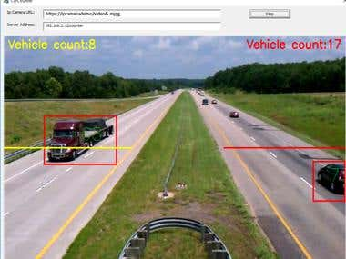 Car Tracking from IP video