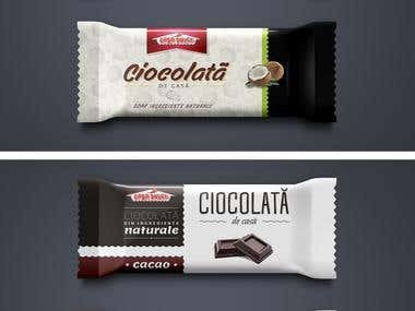 2 Chocolate foil packaging