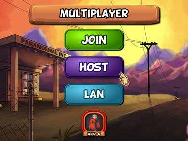 Ghostlight Manor Multiplayer Lobby (with UI)