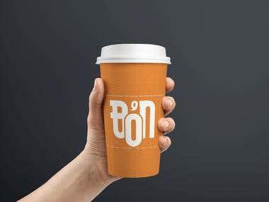 Café Logo Mock up