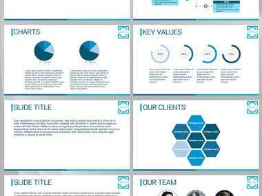 PPT template for company