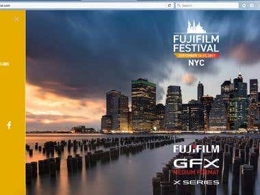 FujiFilm Website