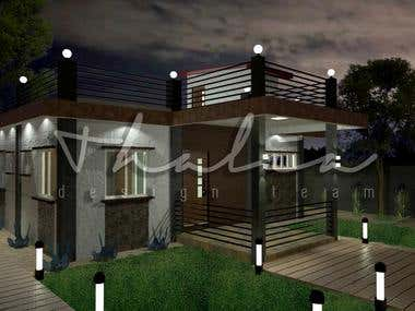 Rehabilitation of a Bungalow to a Residential w/ a Roof Deck