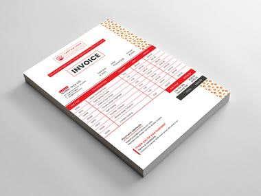 Restaurant Invoice Design