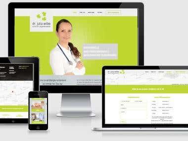 Artztpraxis Webdesign