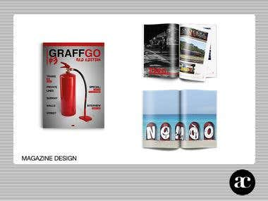 GraffGo 3 Magazine design