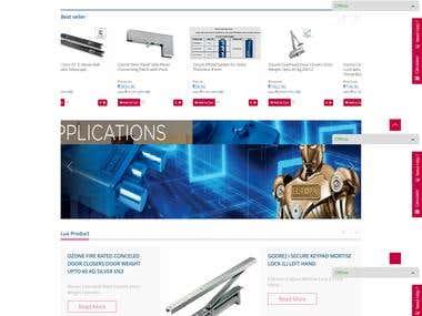 E-commerce website (https://builderscollection.com/)
