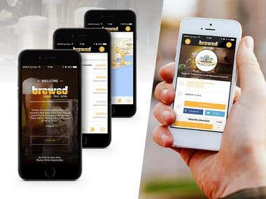 App Name : Brewed | Brew Fest Search