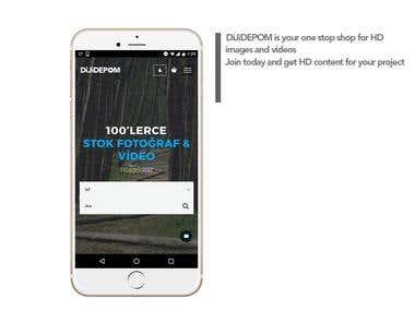 DiJiDEPOM Website+App