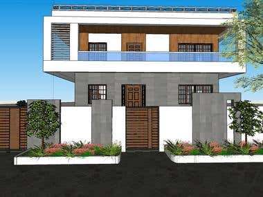CONTEMPORARY ELEVATION DESIGN