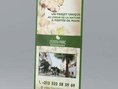 Roll up design for a real estate company