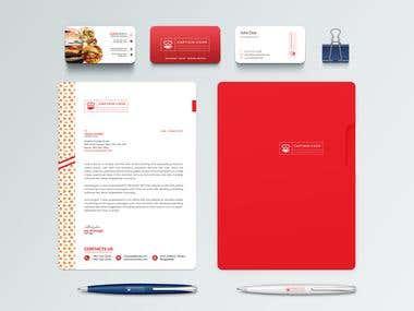 Restaurant Logo & Branding Identity Design
