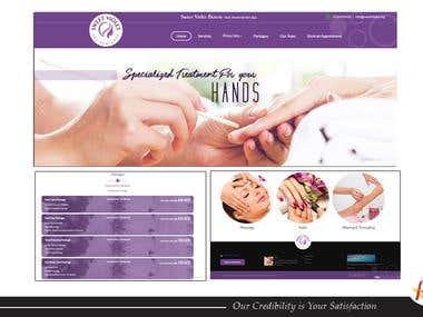Spa Center Website