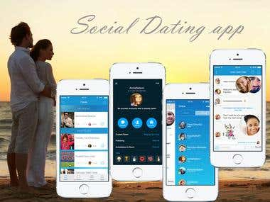 iOS Dating application